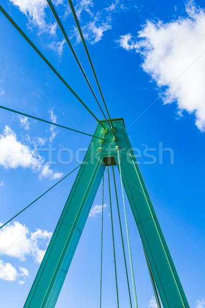 Puente colonia detalle Alemania cielo ciudad Foto stock © meinzahn