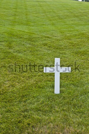 Modest tomb of Robert Kennedy in Arlington National Cemetery, Ar Stock photo © meinzahn