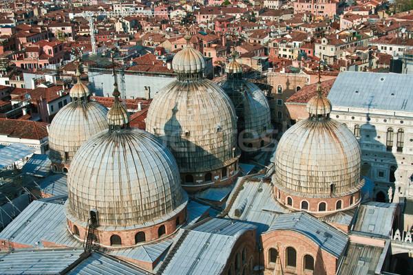 ストックフォト: 表示 · 塔 · 市 · ヴェネツィア · 橋 · アーキテクチャ