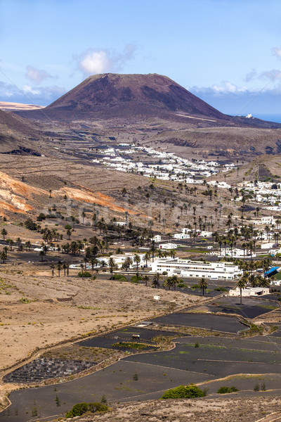 Small town of Haria in Lanzarote  Stock photo © meinzahn
