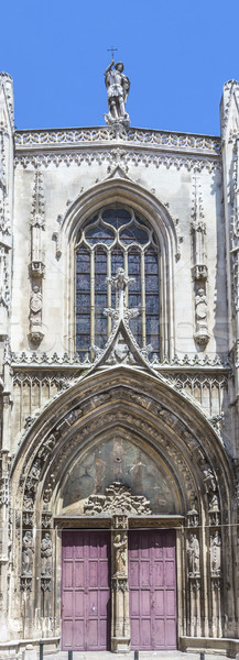 The Cathedrale Sainte Sauveur in Aix-en-Provence  Stock photo © meinzahn