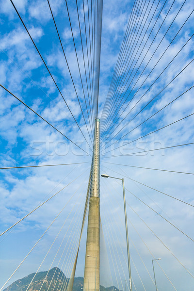 Ting Kau Bridge in Hong Kong Stock photo © meinzahn