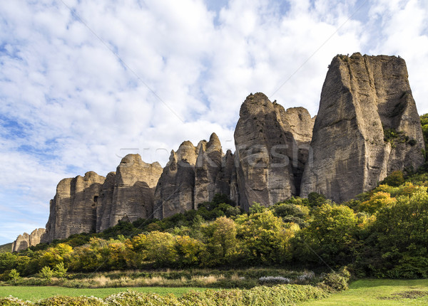 rocky outcrops in provence france Stock photo © meinzahn