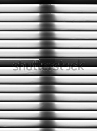 Schaduw sluiter blinde harmonisch kruis business Stockfoto © meinzahn