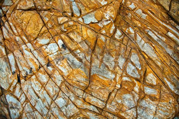 красивой линия камней впечатление природы фон Сток-фото © meinzahn