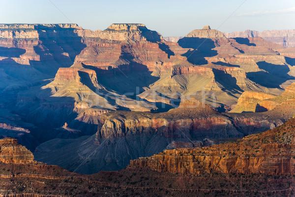 Grand Canyon punto tramonto luce natura montagna Foto d'archivio © meinzahn