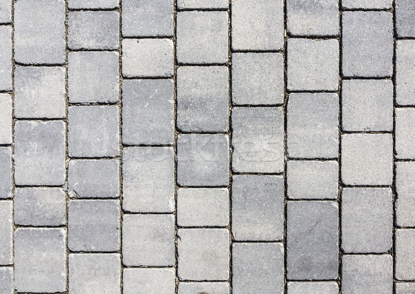 grey earthenware floor tile seamless background and texture  Stock photo © meinzahn