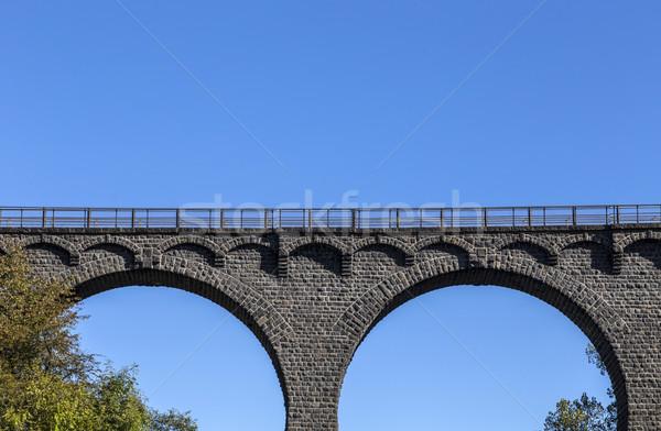 old railway bridge in Daun Stock photo © meinzahn