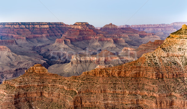 view into the grand canyon from mathers point, south rim Stock photo © meinzahn