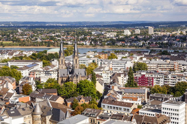aerial of Bonn, the former capital of Germany Stock photo © meinzahn