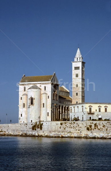 Cathedral on the sea. Trani. Apulia.  Stock photo © meinzahn