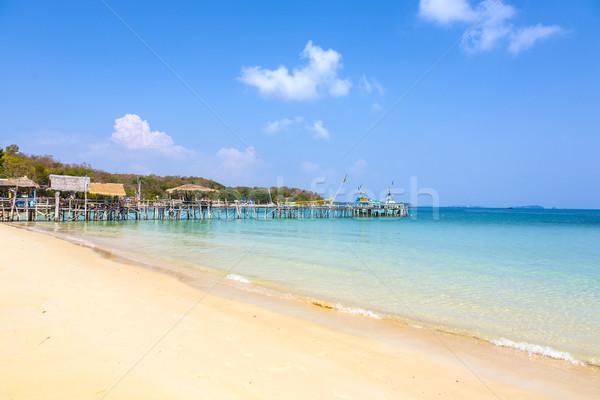 beautiful tropical empty beach  Stock photo © meinzahn