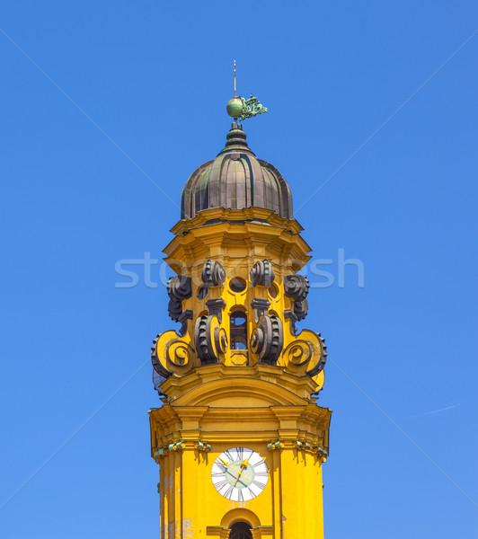 famous Theatine church in Munich Stock photo © meinzahn