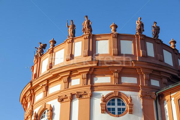 立って 屋根 宮殿 詳細 空 青 ストックフォト © meinzahn