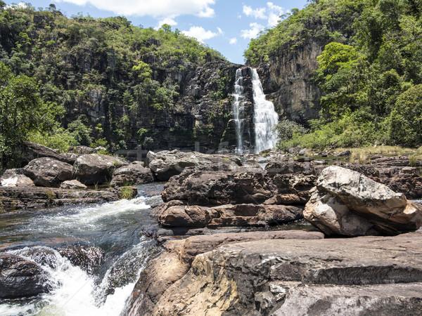 Сток-фото: мнение · водопада · город · Рио · бюстгальтер · природы