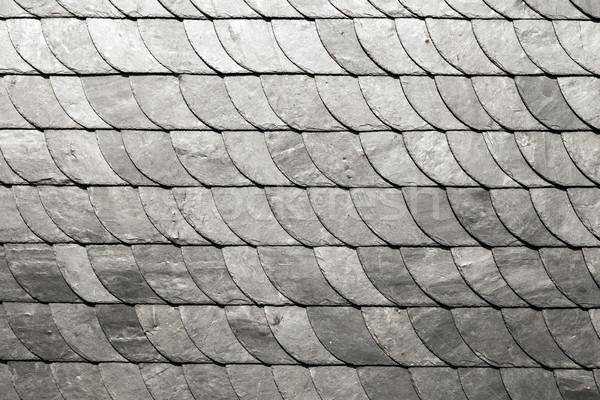 slate shindles background Stock photo © meinzahn