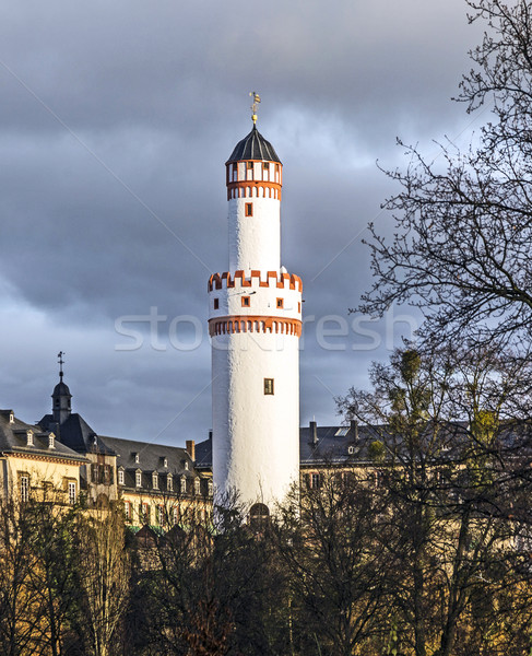 Castle Bad Homburg and watchtower  in Hessen, Germany  Stock photo © meinzahn