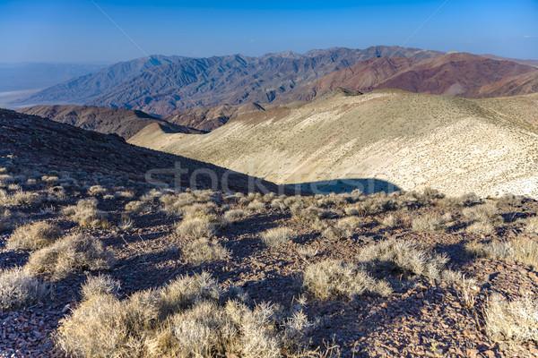 Maravilhoso cênico ponto ver montanhas morte Foto stock © meinzahn