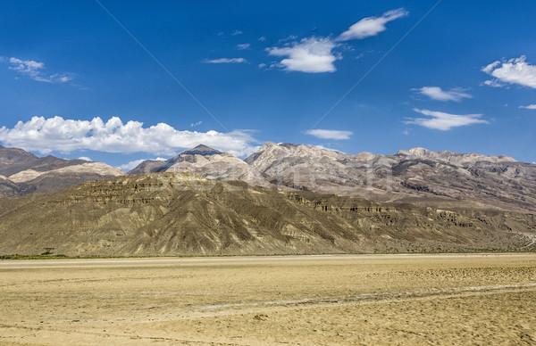 Panoramik görmek vadi çöl ölüm yol Stok fotoğraf © meinzahn