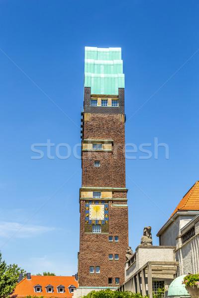 башни колония небе дома искусства Церкви Сток-фото © meinzahn
