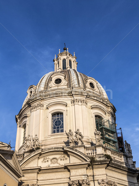 Cupola Petersdom in Rome. Italy. Stock photo © meinzahn