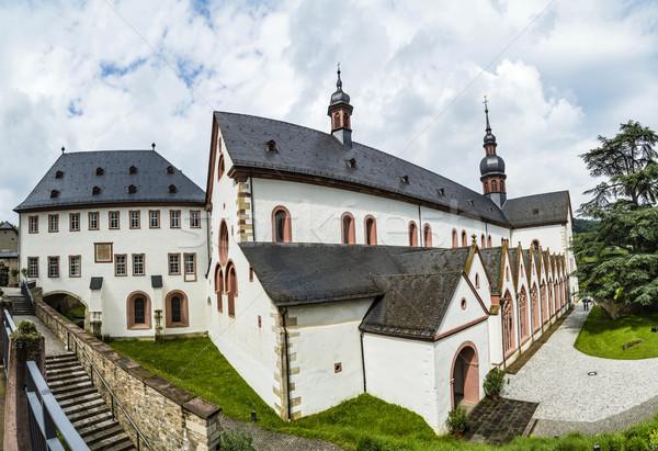 cloister Eberbach in Germany Stock photo © meinzahn