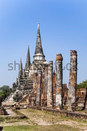 ünlü tapınak kraliyet saray antika din Stok fotoğraf © meinzahn