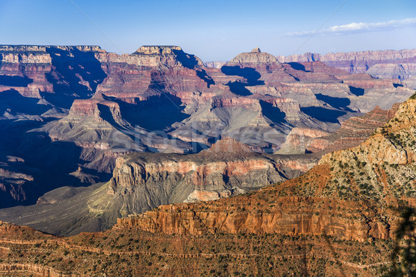 Fantastique vue canyon point jante Photo stock © meinzahn