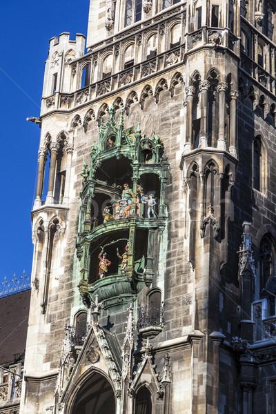 şehir salon Münih Bina dans kilise Stok fotoğraf © meinzahn