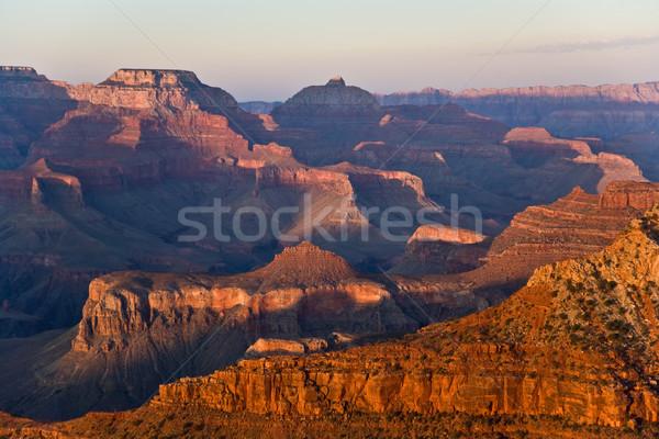 Fantasztikus kilátás Grand Canyon pont dél peremszegély Stock fotó © meinzahn