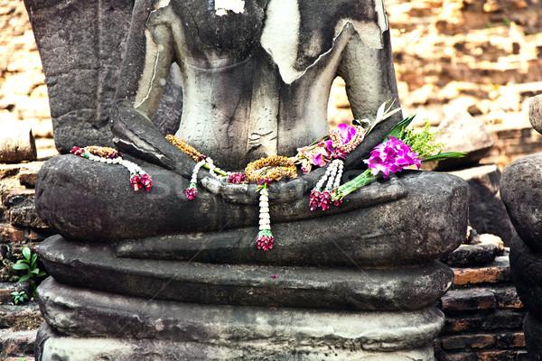 ünlü tapınak kraliyet saray heykel tarih Stok fotoğraf © meinzahn
