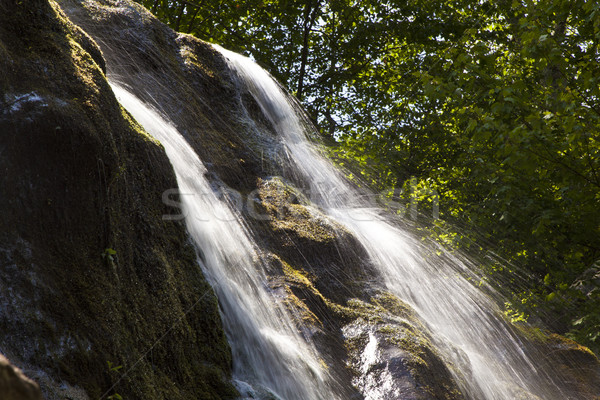 natural Waterfall in national park Stock photo © meinzahn