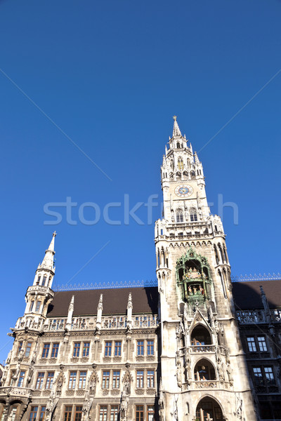 Munique cidade ouvir edifício projeto arte Foto stock © meinzahn