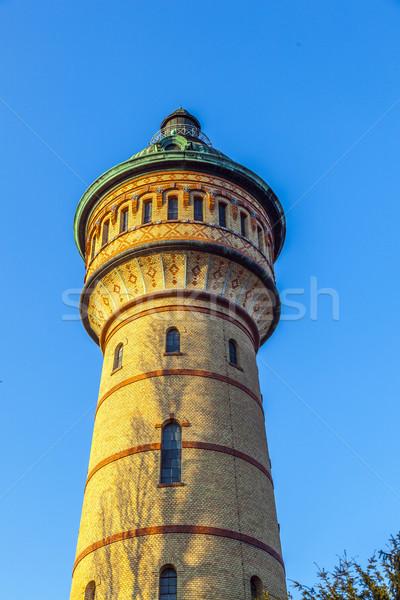 famous watertower in Biebrich, Wiesbaden Stock photo © meinzahn