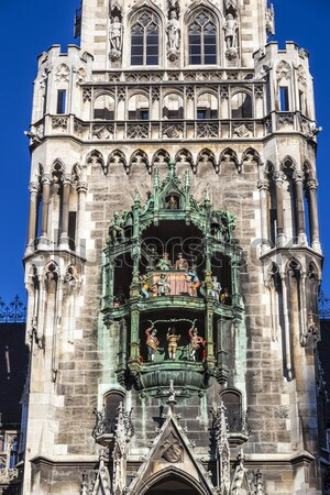 Munich ciudad sala fachada Foto stock © meinzahn