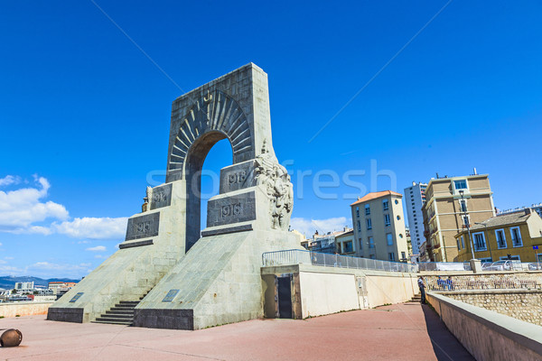 The Monument aux Mort  in Marseille Stock photo © meinzahn