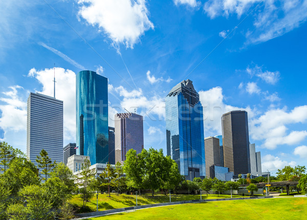 Skyline of Houston, Texas Stock photo © meinzahn