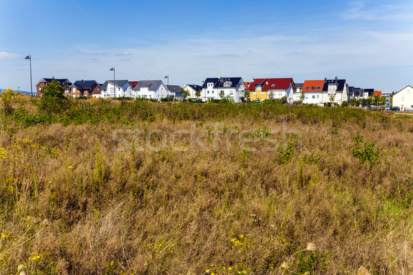 new housing area in beautiful landscape Stock photo © meinzahn