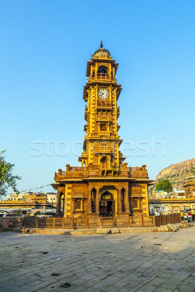 Jodhpur clocktower  Stock photo © meinzahn