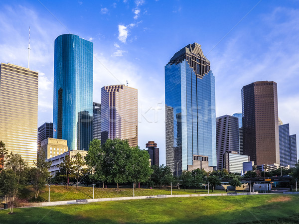 Horizonte Houston América tarde tarde negocios Foto stock © meinzahn