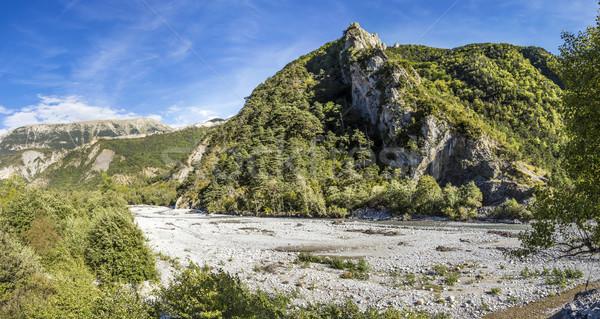 river La Bleone near Prads in region Alpes de haute Provence   Stock photo © meinzahn