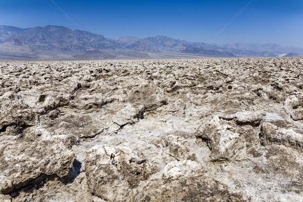 Sal placas muerte valle diablo gas Foto stock © meinzahn