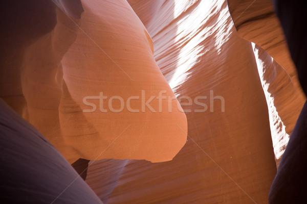 Kanyon sayfa dünya kabile park Stok fotoğraf © meinzahn