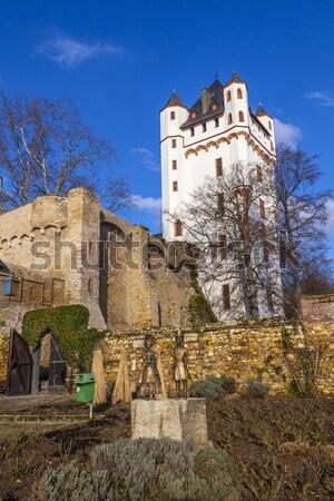 Castle in Eltville in Germany  Stock photo © meinzahn