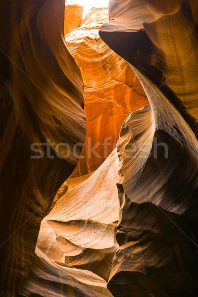 Antelopes Canyon, the world famous slot canyon  Stock photo © meinzahn