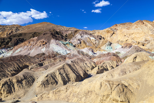 Paleta morte vale estrada azul rocha Foto stock © meinzahn