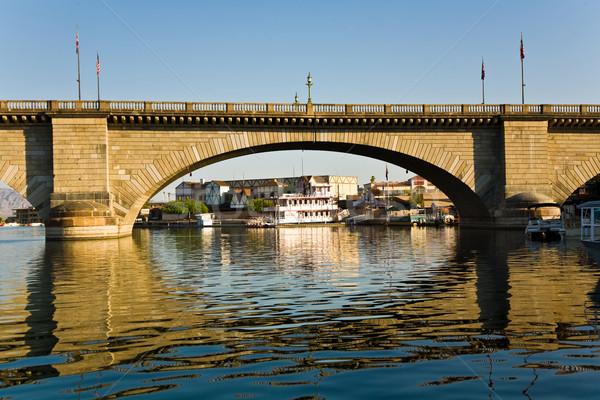 London bridge lac historique gare route 66 eau Photo stock © meinzahn