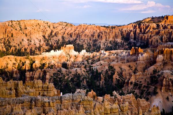 Arenito desfiladeiro belo paisagem magnífico pedra Foto stock © meinzahn