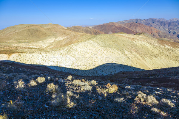 Maravilloso escénico punto vista montanas muerte Foto stock © meinzahn
