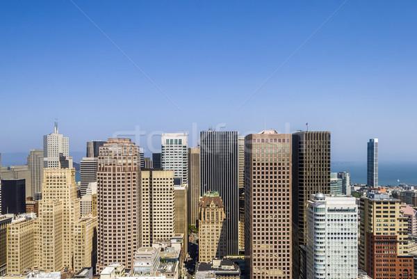 skyline of San Francisco Stock photo © meinzahn